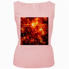 Summer Evening Women s Pink Tank Top