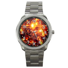 Summer Evening Sport Metal Watch