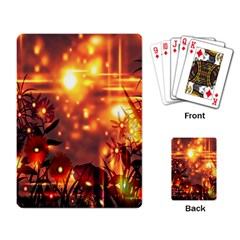 Summer Evening Playing Card