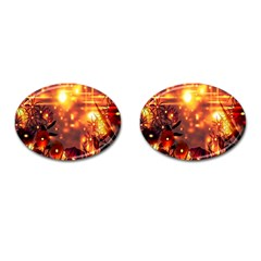 Summer Evening Cufflinks (oval)