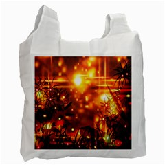 Summer Evening Recycle Bag (one Side)