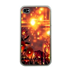 Summer Evening Apple iPhone 4 Case (Clear)