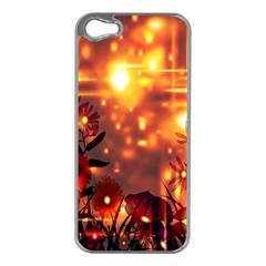 Summer Evening Apple iPhone 5 Case (Silver)