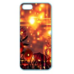 Summer Evening Apple Seamless iPhone 5 Case (Color)