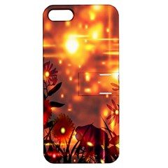 Summer Evening Apple iPhone 5 Hardshell Case with Stand