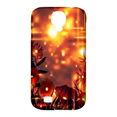 Summer Evening Samsung Galaxy S4 Classic Hardshell Case (PC+Silicone)