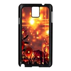 Summer Evening Samsung Galaxy Note 3 N9005 Case (Black)