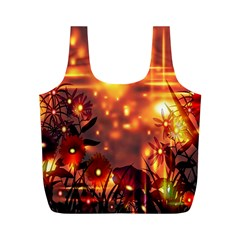 Summer Evening Full Print Recycle Bags (M)