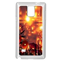 Summer Evening Samsung Galaxy Note 4 Case (White)