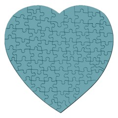 Hydrangea Blue in an English Country Garden Jigsaw Puzzle (Heart)