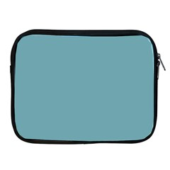 Hydrangea Blue in an English Country Garden Apple iPad 2/3/4 Zipper Cases