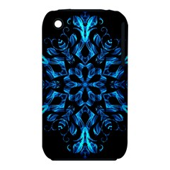 Blue Snowflake Iphone 3s/3gs