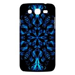 Blue Snowflake Samsung Galaxy Mega 5 8 I9152 Hardshell Case