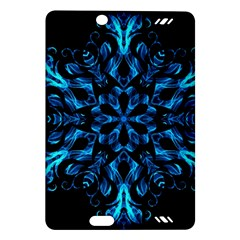 Blue Snowflake Amazon Kindle Fire Hd (2013) Hardshell Case