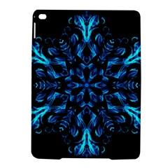 Blue Snowflake iPad Air 2 Hardshell Cases