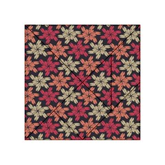 Floral Seamless Pattern Vector Acrylic Tangram Puzzle (4  x 4 )