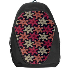 Floral Seamless Pattern Vector Backpack Bag
