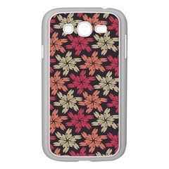 Floral Seamless Pattern Vector Samsung Galaxy Grand DUOS I9082 Case (White)