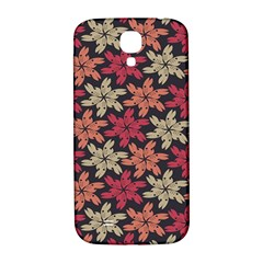 Floral Seamless Pattern Vector Samsung Galaxy S4 I9500/I9505  Hardshell Back Case