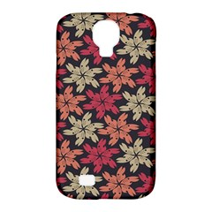 Floral Seamless Pattern Vector Samsung Galaxy S4 Classic Hardshell Case (PC+Silicone)