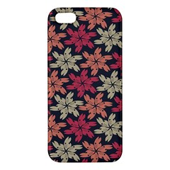 Floral Seamless Pattern Vector iPhone 5S/ SE Premium Hardshell Case