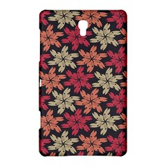 Floral Seamless Pattern Vector Samsung Galaxy Tab S (8 4 ) Hardshell Case