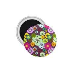 Floral Seamless Pattern Vector 1 75  Magnets