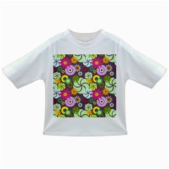 Floral Seamless Pattern Vector Infant/Toddler T-Shirts