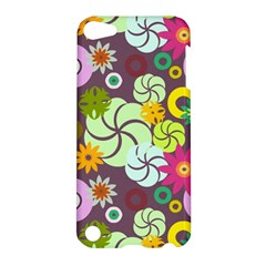 Floral Seamless Pattern Vector Apple Ipod Touch 5 Hardshell Case