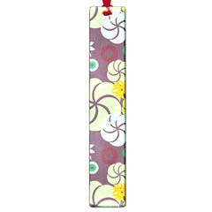Floral Seamless Pattern Vector Large Book Marks