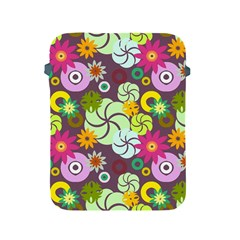 Floral Seamless Pattern Vector Apple iPad 2/3/4 Protective Soft Cases