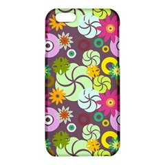 Floral Seamless Pattern Vector iPhone 6/6S TPU Case