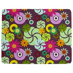Floral Seamless Pattern Vector Jigsaw Puzzle Photo Stand (Rectangular)