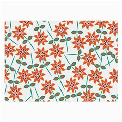 Floral Seamless Pattern Vector Large Glasses Cloth
