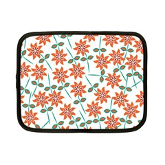 Floral Seamless Pattern Vector Netbook Case (Small)