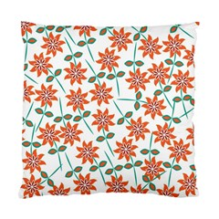Floral Seamless Pattern Vector Standard Cushion Case (Two Sides)