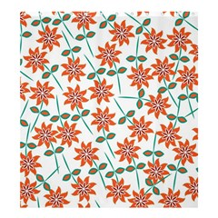 Floral Seamless Pattern Vector Shower Curtain 66  X 72  (large)