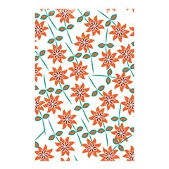 Floral Seamless Pattern Vector Shower Curtain 48  x 72  (Small)