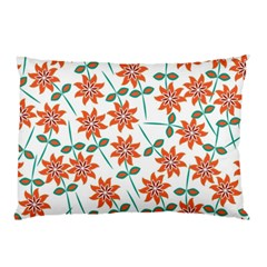 Floral Seamless Pattern Vector Pillow Case (two Sides)