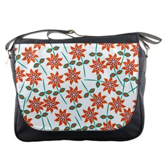 Floral Seamless Pattern Vector Messenger Bags
