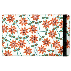 Floral Seamless Pattern Vector Apple iPad 3/4 Flip Case