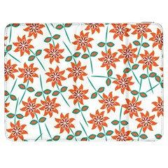 Floral Seamless Pattern Vector Samsung Galaxy Tab 7  P1000 Flip Case