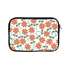 Floral Seamless Pattern Vector Apple iPad Mini Zipper Cases
