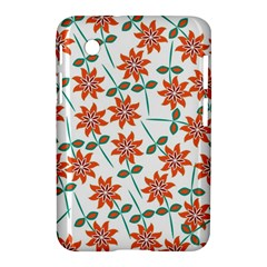 Floral Seamless Pattern Vector Samsung Galaxy Tab 2 (7 ) P3100 Hardshell Case