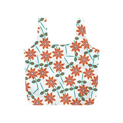 Floral Seamless Pattern Vector Full Print Recycle Bags (s)
