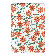 Floral Seamless Pattern Vector Samsung Galaxy Tab Pro 12 2 Hardshell Case