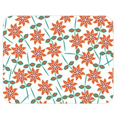 Floral Seamless Pattern Vector Double Sided Flano Blanket (medium)