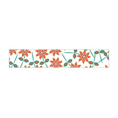 Floral Seamless Pattern Vector Flano Scarf (Mini)