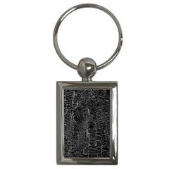 Old Black Background Key Chains (rectangle)