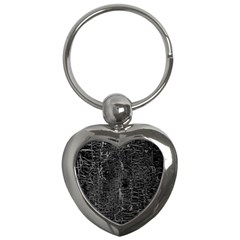 Old Black Background Key Chains (heart)